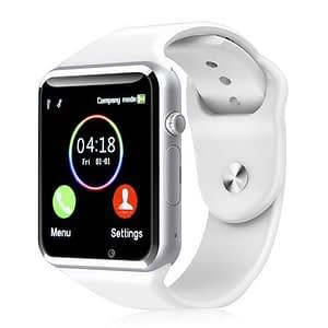 women smartwatch 2020 Deals Black Friday - T1 Bluetooth Smart Watch Wrist Watch with Camera For iPhone Android Smart Phones