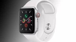 New Sale Apple Watch Series 5 (40mm, GPS) Space Gray Aluminum