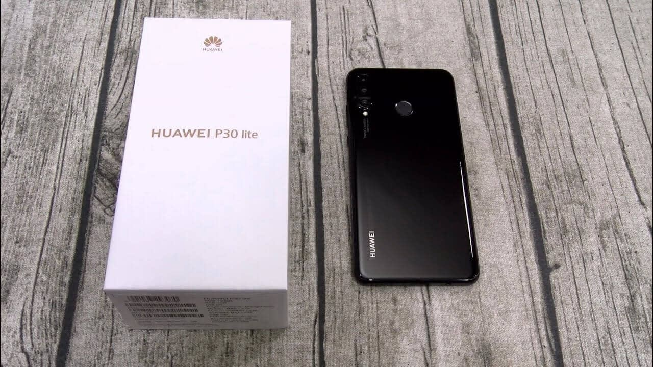 Cyber Monday Deals 2020 - HUAWEI P30 Lite 4G Phablet