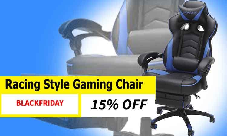 Racing Style Gaming Chair Black Friday Sale