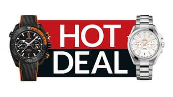 Black Friday Sale 2019 - Omega Watches at Jomashop with coupon