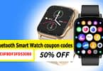 RUNFENGTE Full Touch Bluetooth Smart Watch coupon codes | 50% OFF