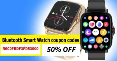 RUNFENGTE Full Touch Bluetooth Smart Watch coupon codes   50% OFF