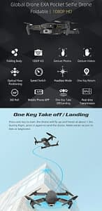 Drone GD89 Foldable WiFi FPV RC Drone Quadcopter