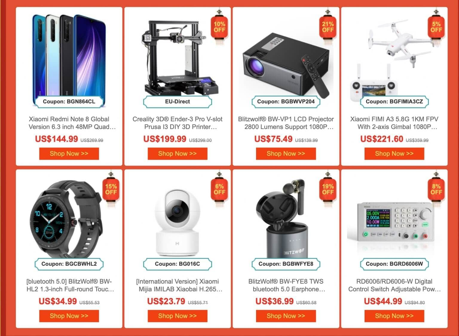 Chinese New Year Festival Deals 2020