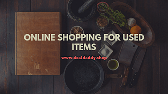 Online Shopping For Used Items