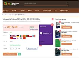 Christmas Sale licenses for Microsoft applications and operating systems