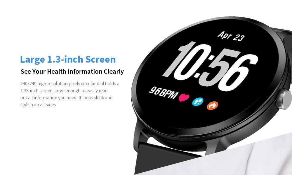 Black Friday 2019 Deals: Bilikay V11 Waterproof Sports Smart Watch for Android / iOS