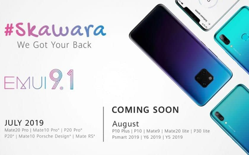 Huawei confirms deployment of the update on 13 smartphones this summer