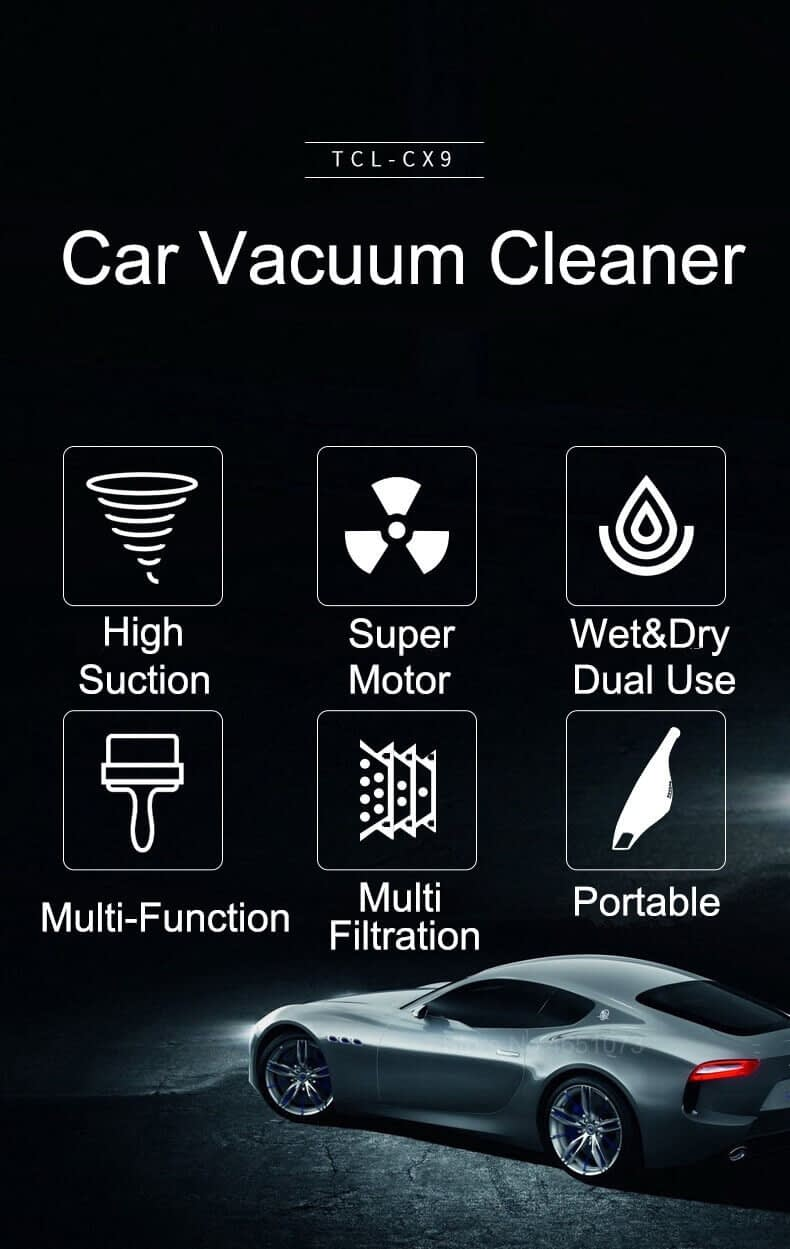 TCL Car Portable Vacuum Cleaner