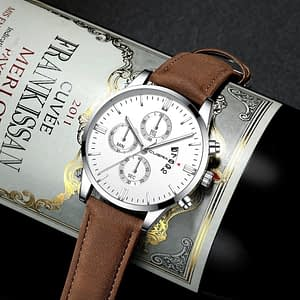 Specification Men Leather Watch-Business Casual Watch 2019