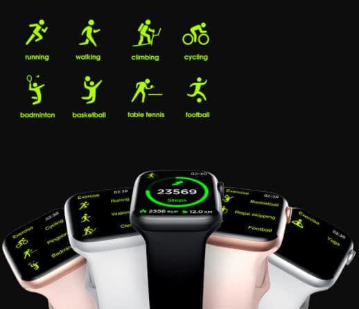RUNFENGTE Full Touch Bluetooth Smart Watch coupon codes