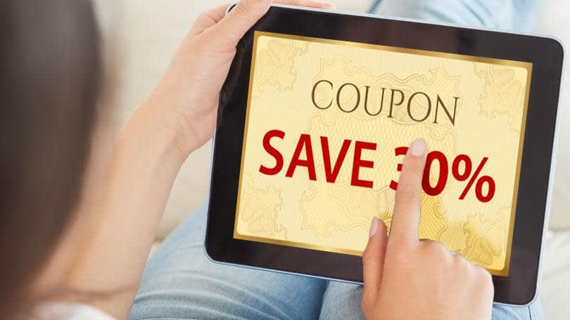 Shopping Guide - What does Online Coupon mean