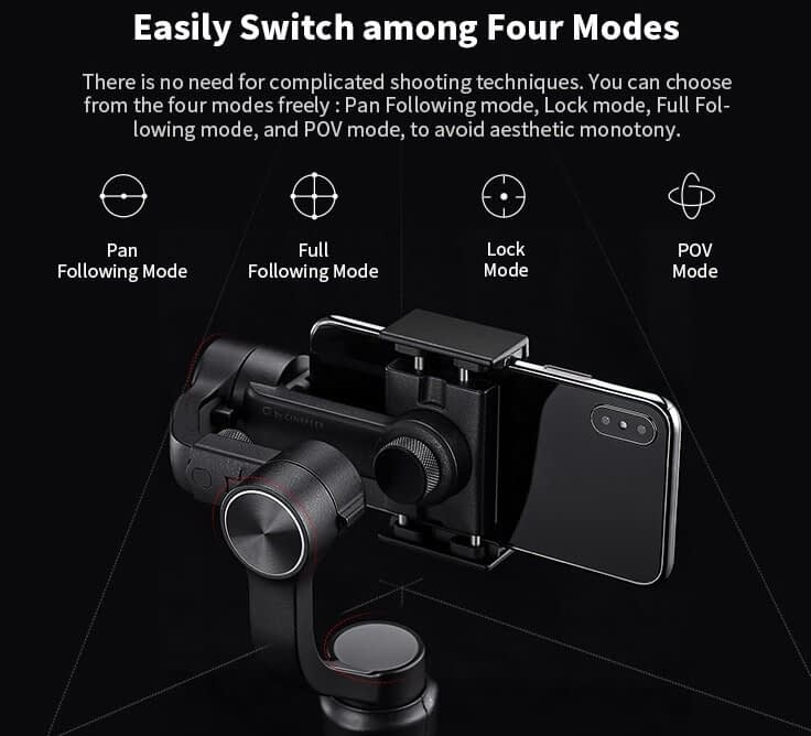 ZHIYUN Official Cinepeer C11 3-Axis Phone Handheld Gimbal Stabilizer Sale
