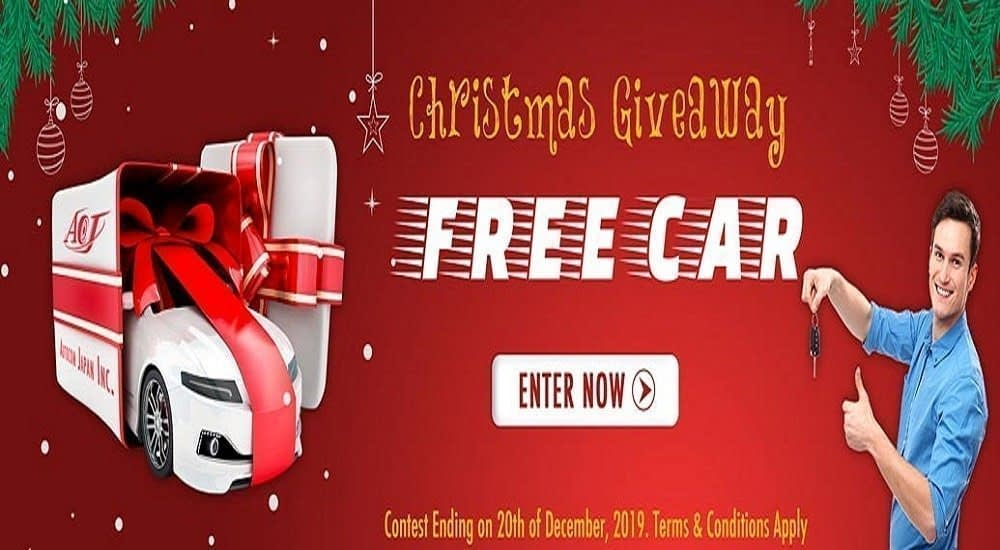 Free Car Christmas Giveaway 2019