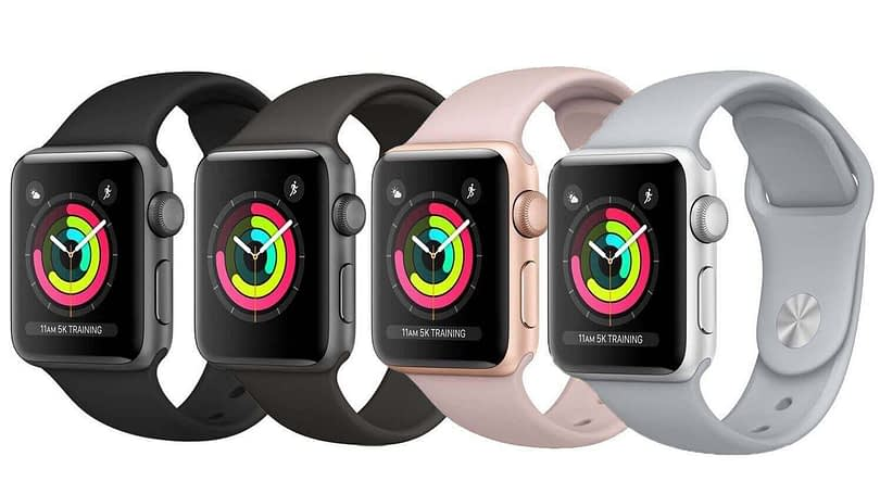 Sale Apple Watch Series 3 GPS with White Sport Band 38mm