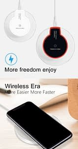 Qi Wireless Charger Charging Power Pad Slim Receiver for iPhone X